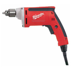 "Milwaukee 0101-20 - 1/4"" Magnum® Drill, 0-4000 RPM with QUIK-LOK® Cord"