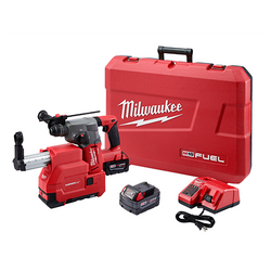 "Milwaukee 2712-22DE - M18 FUEL™ 1"" SDS Plus Rotary Hammer W/ DE Kit"