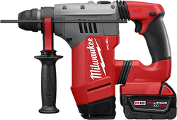 "Milwaukee 2715-22DE - M18 FUEL™ 1-1/8"" SDS Plus Rotary Hammer W/ DE Kit"