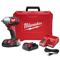 "Milwaukee 2658-22CT - M18™ 3/8"" Impact Wrench Kit with Friction Ring"