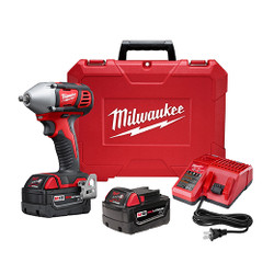 "Milwaukee 2658-22 - M18™ 3/8"" Impact Wrench Kit with Friction Ring"
