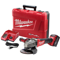 "Milwaukee 2781-21 - M18 FUEL™ 4-1/2"" / 5"" Grinder, Slide Switch Lock-On Kit"
