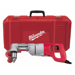 "Milwaukee 3107-6 - 1/2""  D-Handle Right Angle Drill Kit"