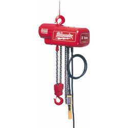 Milwaukee 9566 - 1 Ton Electric Chain Hoist