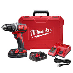 "Milwaukee 2606-22CT - M18™ Compact 1/2"" Drill Driver Kit"