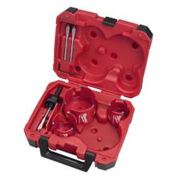 Milwaukee -  Big Hawg® Hole Cutter Kit (7 PC) - 49-56-9075