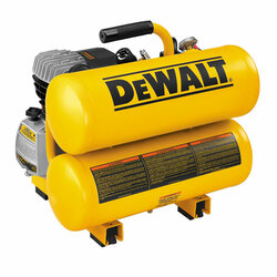 DeWALT -  1.1 HP Continuous 4 Gallon Electric Hand Carry Compressor - D55153