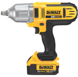 "DeWALT -  20V MAX* Lithium Ion 1/2"" High Torque Impact Wrench Kit - DCF889HM2"
