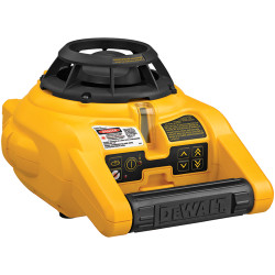 DeWALT -  Self-Leveling Int/Ext Rotary Laser Kit - DW074KD