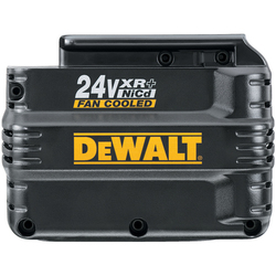 DeWALT -  24V XR+™  Pack FAN COOLED Extended Run-Time Battery - DW0242