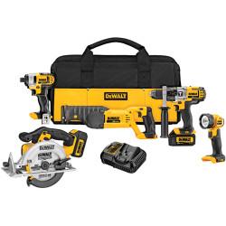 DeWALT -  20V MAX* Premium 5-Tool Combo Kit - DCK592L2