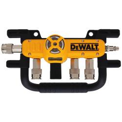"DeWALT -  3/8"" Quadraport Air Line Splitter with Regulator - D55041"