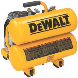 DeWALT -  2 HP Elec, 4 gal, Hand Carry, Twin tanks, 14 Amps - D55151