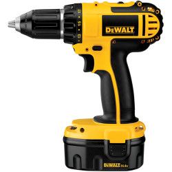 DeWALT -  14.4V Compact Drill/Driver w/ 2 Batteries and Kit Box - DC730KA