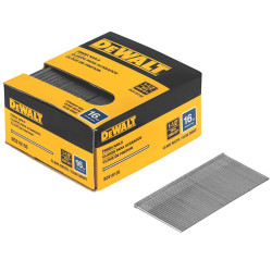 "DeWALT -  16 Ga. Straight Nails, 1-1/2"", 2500 pieces - DCS16150"