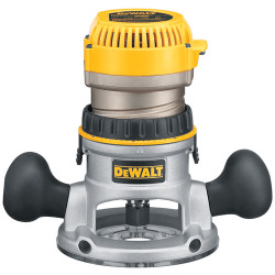 DeWALT -  1 3/4 Maximum Motor HP Fixed Base Router - DW616