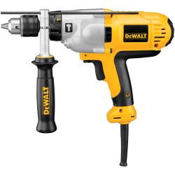 """DeWALT -  1/2"""" 2-Speed Mid Handle Hammerdrill 10 Amp w/ Kit Box - DWD525K"""