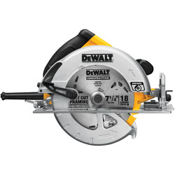 "DeWALT -  7-1/4"" Light Weight Circular Saw 15 Amp w/ Bag - DWE575S"