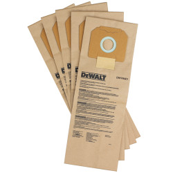 DeWALT -  Paper Dust Bag - 5 Pack - DWV9401