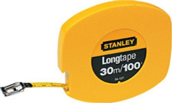 Stanley -  30m/100 x 3/8-Inch Steel Long Tape Rule - 34-107