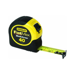 Stanley -  FatMax  40-Foot Tape Rule with BladeArmor Coating - 33-740L