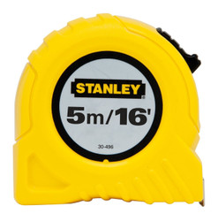 Stanley -  5m/16 x 3/4-InchStanley -  Tape Rule, cm Graduation - 30-496