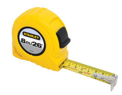 Stanley -  8m/26 x 1-InchStanley -  Tape Rule, cm Graduation - 30-456