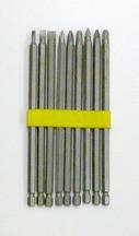 Samona/ROK -  6 Inch Screwdriver Bit Set 10 Pc - 37205