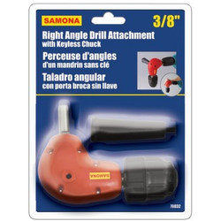 Samona/ROK -  Right Angle Drill Attachment with Keyless Chuck - 70032