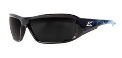 Edge Eyewear -  A2 Brazeau Apocalypse 2- Black & Blue/smoke - XB416
