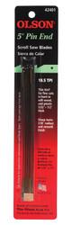 Olson -  Saw  Pin End Scroll Saw Blade,18.5 TPI - 42401