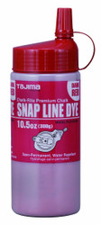 Tajima -  Chalk-Rite 10.5-Ounce Snap Line Red Powder Dye - PLC3-DR300