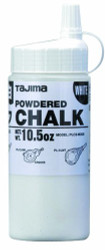 Tajima -  White Ultra Fine Snap Line Chalk, with easy fill nozzle 10.5 oz. - PLC2-W300