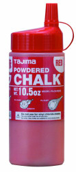 Tajima -  Red Ultra Fine Snap Line Chalk, with easy fill nozzle 10.5 oz. - PLC2-R300