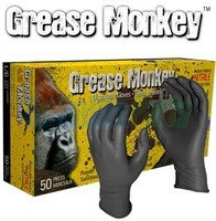 Watson Gloves -  Grease Monkey 8mm thick Nitrile Gloves - 50 pcs Large  - 5555PF-L
