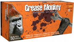 Watson Gloves -  GREASE MONKEY LATEX GLOVES - X 50/PK - 5553PF-X