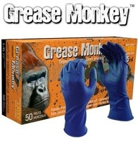 Watson Gloves -  Grease Monkey 15mm thick Latex Gloves - 50 pcs Large  - 5553PF-L