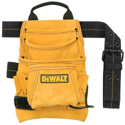 DeWALT -  10-Pocket Carpenter's Suede Nail and Tool Bag -  DG5333