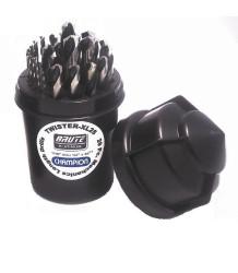 Champion -  TWISTER-XL28 Mechanics Drill Set - 29pc - TWISTER-XL28
