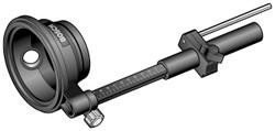 Bosch -  Hammer/Drill Dust Extraction Fixture & Hood  (Large) - 1618190009