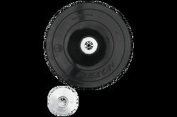 "Bosch -  4-1/2"" Rubber Backing Pad w/ Lock Nut - MG0450"