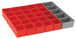 Bosch -  Full Tray-  Red inset box kit for 53mm drawer - ORG53-RED