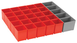 Bosch -  Full Tray - Red inset box kit for 72mm drawer - ORG72-RED