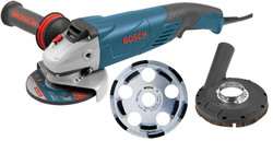 Bosch -  Surface Grinder Kit w/ 1821 Grinder, Shroud & Cup Wheel - 18SG-5K
