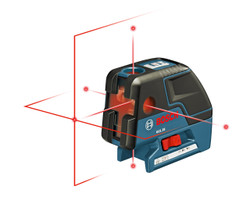 Bosch -  GCL 25 5-Point Self-Leveling Alignment Laser & Cross Line - GCL 25