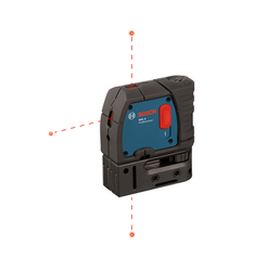 Bosch -  GPL3 3-Point Self-levelling Alignment Laser w/ mini-case - GPL3
