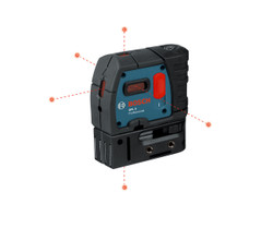 Bosch -  GPL5 5-Point Self-levelling Alignment Laser w/ mini-case - GPL5