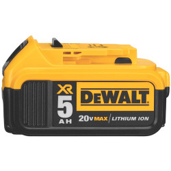 DeWALT -  20V MAX Premium XR Lithium Ion Battery Pack (5.0 Ah) - DCB205