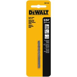 "DeWALT -  5/64"" BLACK OXIDE DRILL BIT ( 2 pack) - DW1105"