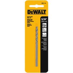 """DeWALT -  5/32"""" BLACK OXIDE DRILL BIT - DW1110"""